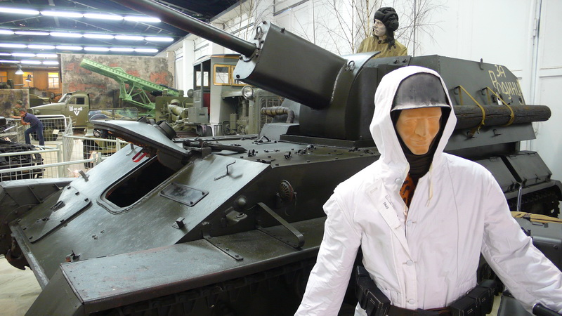 Sovětský 76mm samohybný kanón SU-76