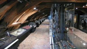 Expozice Císařské zbrojnice je umístěna v podkroví Schwarzenberského paláce