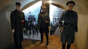 Hradní stráž v stejnokrojích čs. legií, používáno 1929-38
