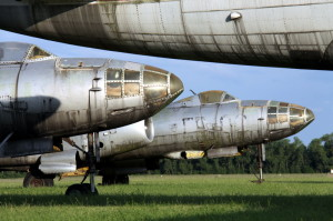 Přídě bombardérů Il-28