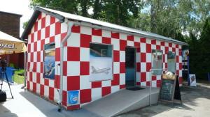Stylový domek s občerstvením a prodejnou suvenýrů