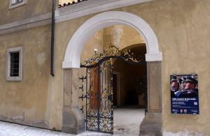 Vstupní brána k věži Mihulka