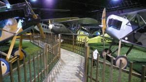 Hangár věnovaný rokům 1925-1938