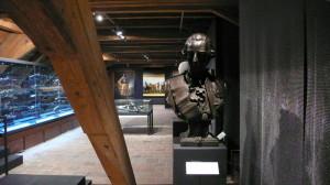 V expozici najde návštěvník i řadu plastik