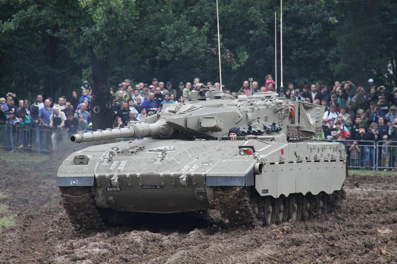 Izraelský hlavní bojový tank MERKAVA Mk. 1