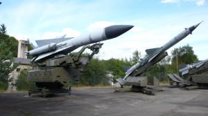 Sovětský protiletadlový raketový komplet S-200 VEGA