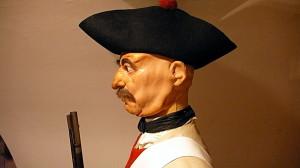 Strážný - fysilír pěchoty - s pěchotní puškou