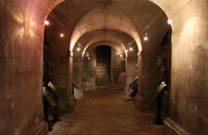 Krypta pod chrámem, poslední útočiště parašutistů