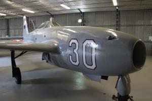 Stíhací letoun první generace Jakovlev Jak-17