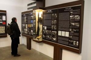 Část expozice tvoří informační panely