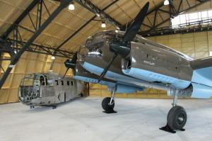 Aero C-3A v hangáru Staré Aerovky