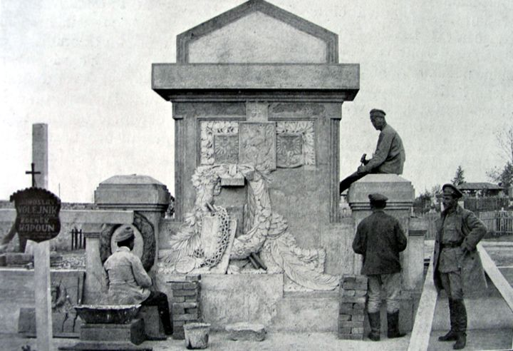 Výsledek obrázku pro Pomník legionáři Vladivostok