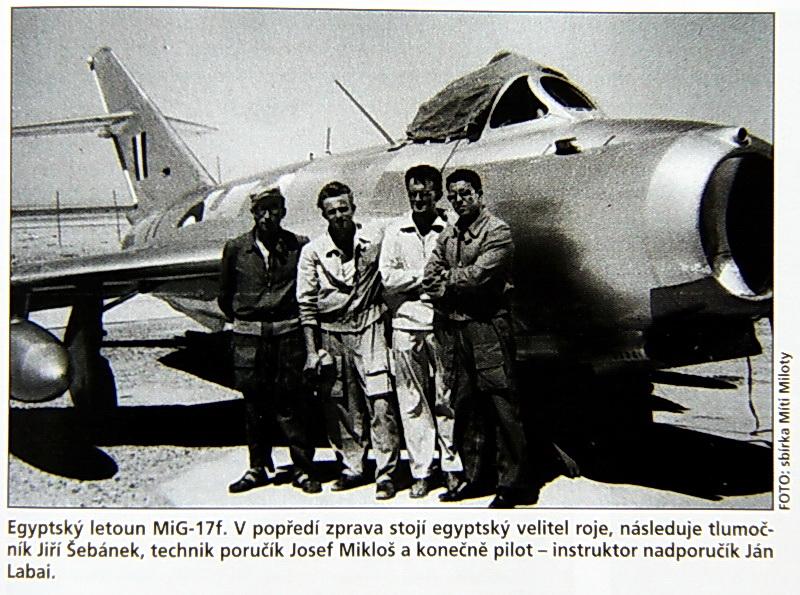 Padesátá léta: co dělali čs. letečtí instruktoři v Egyptě?
