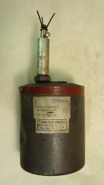 Německá protipěchotní šrapnelová mina SPRENGMINE 44