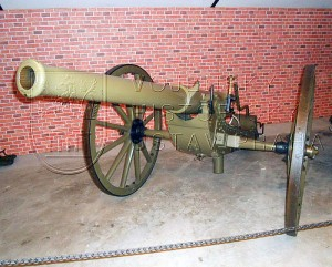 7,5cm polní kanón z roku 1890