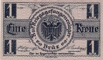 Papírové platidlo císařsko-královského zajateckého tábora v Brüx