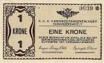 Papírové platidlo císařsko-královského zajateckého tábora v Dunaszerdahely