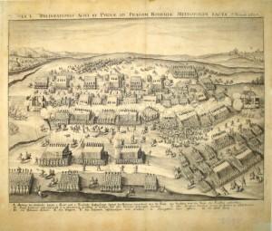 Sadeler Jiljí (Aegidius): Bitva na Bílé Hoře dne 8. listopadu 1620; 1620