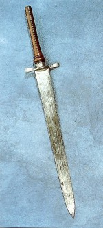 Zátkový bodák; kolem 1700
