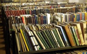 Knihy odpočívající v depozitáři