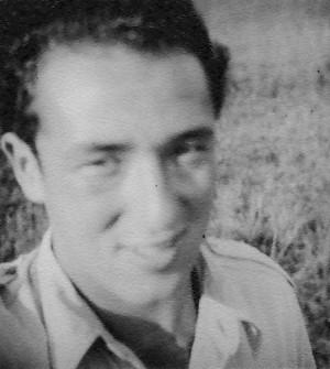 Hugo Meisl po návratu z Velké Británie v roce 1945