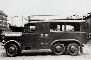 terénní radiovůz Praga RVR