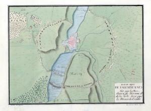 Rukopisný plánek knížete Thurn-Taxise (1811)