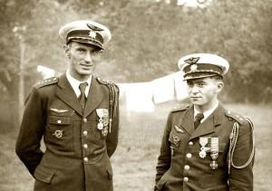 A. Vašátko (vlevo) a F. Peřina
