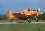 """Letoun Let Z-37 """"Čmelák"""", výr. č. 006"""