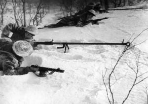 11 - Výcvik čs. vojáků s protitankovými puškami PTRD-41