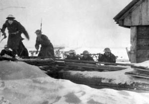 12 - Zimní nácvik boje o osadu