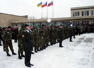 Armáda České republiky byla zastoupena několika desítkami svých příslušníků, především účastníků akce Bachmač – Sokolovo 2013, organizované Československou obcí legionářskou