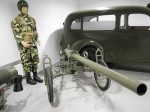 """Prototyp 76,2mm """"tryskového kanónu"""" TRK; Československo; 1949"""