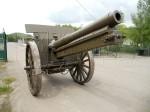 107mm polní kanón vz. 1905 vyrobený v Japonsku pro Rusko