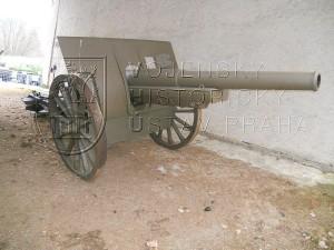 Ruský 107mm polní kanón vz. 1910 systému Schneider