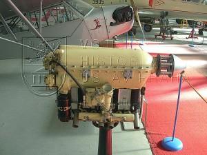 Letecký motor Walter Mikron III