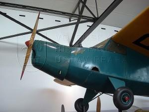 "Praga E-114 M ""Air Baby"", osazený motorem Walter Mikron III"