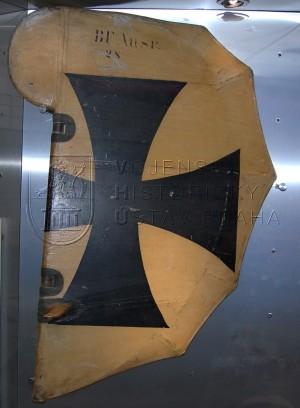 Části letounu Hansa-Brandenburg D.I (KD) (ocasní plocha)