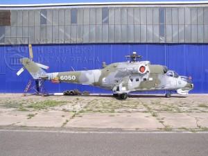 Vrtulník Mil Mi-24 DU