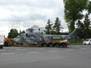 Vrtulník Mil Mi-24 DU (transport do LM)
