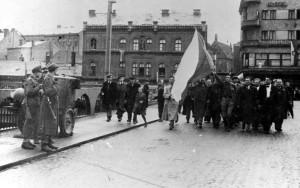 Kolín 5. května 1945. Foto archiv VHÚ.