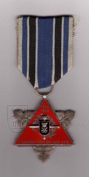 Pamětní medaile 1. úderného praporu ruských legií