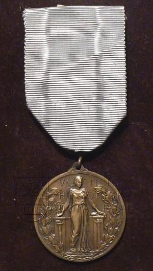 Pamětní medaile Mezinárodní federace starých bojovníků (přední strana)