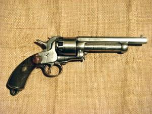Jednočinný perkusní revolver LeMat; 1856
