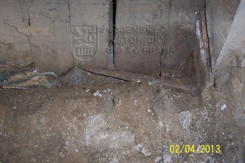 Místo nálezu 1 (foto Dolní Vilémovice - VHU)