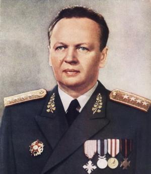 Ministr národní obrany armádní generál Alexej Čepička