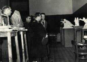 Na návštěvě Výtvarného studia ve VHÚ. Foto archiv VHÚ.