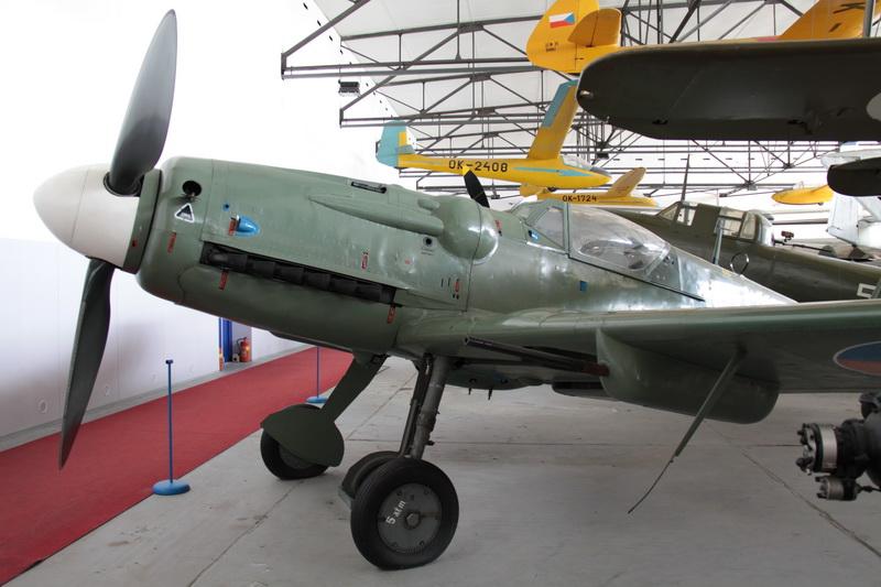 Avia S-199 v Leteckém muzeu Kbely