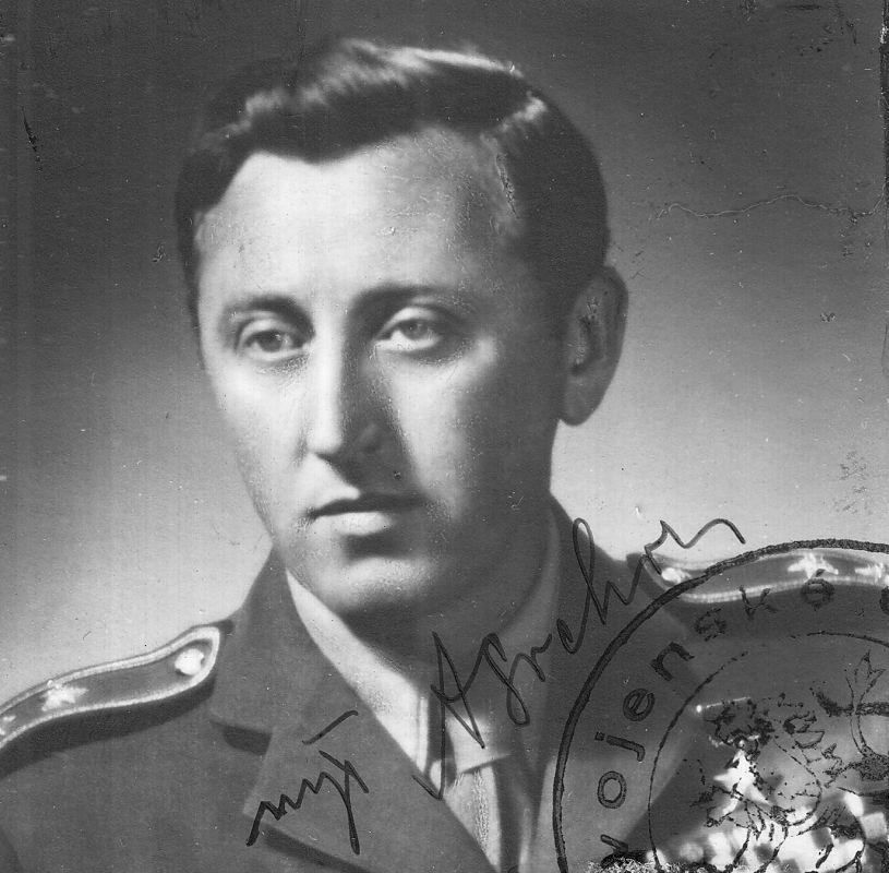 Velitel brigády Antonín Sochor. FOTO:VÚA–VHA