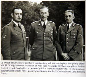 Nacističí pohlaváři v protektorátu